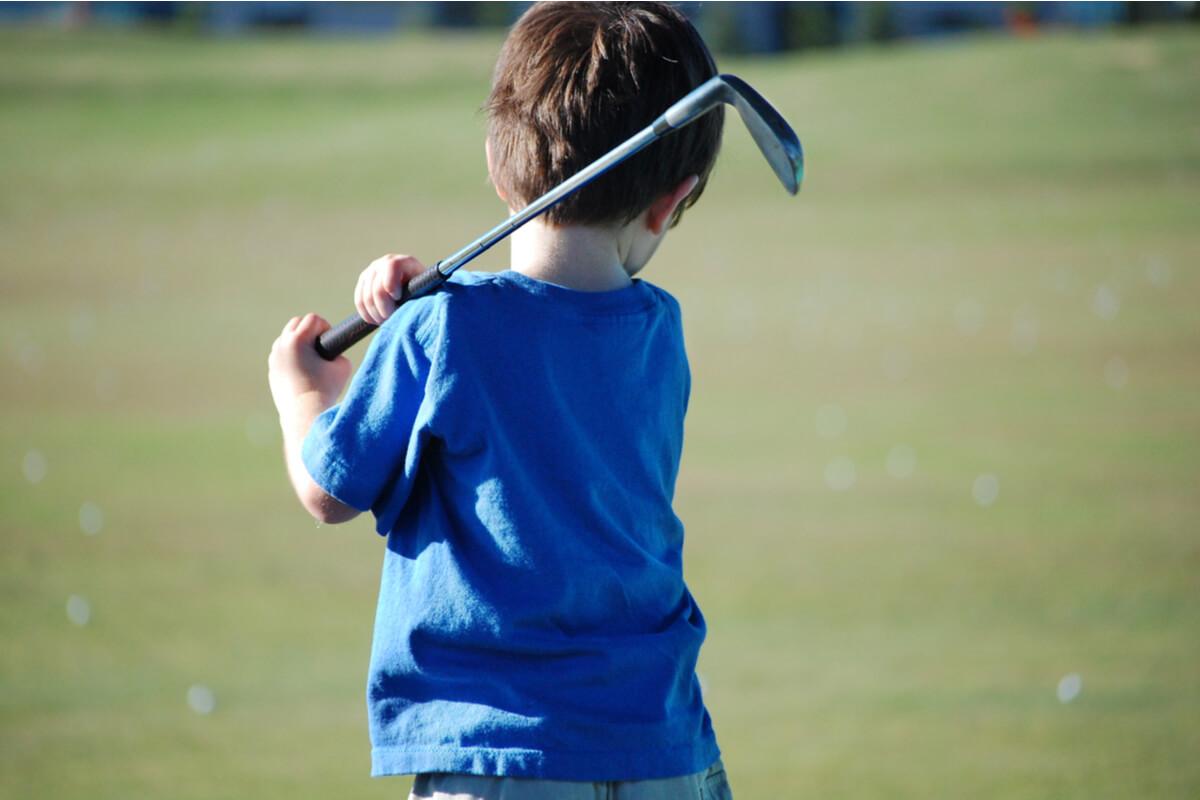 ジュニアゴルフ教室